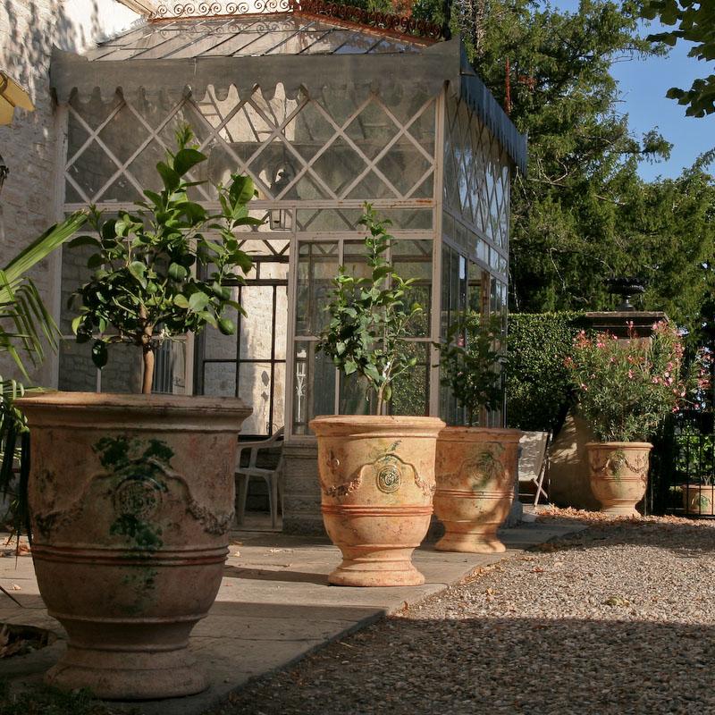 Mons castle le ch ne vert potier anduze for Exterieur in french